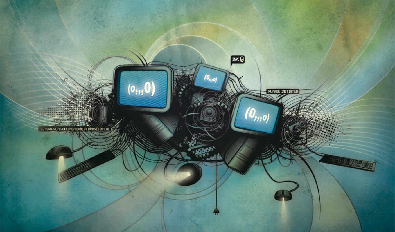 мониторы, creative, wallpapers, הורדה, בקטגוריה, walls,