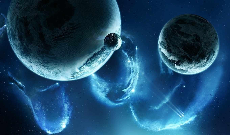 космос, планеты, спутники, звезды, корабли, туманность, science, картинку,