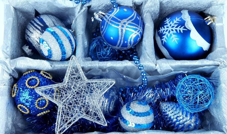 новогодние, дек, шарики, картинку, год, компьютера, золотистый, silver, new,