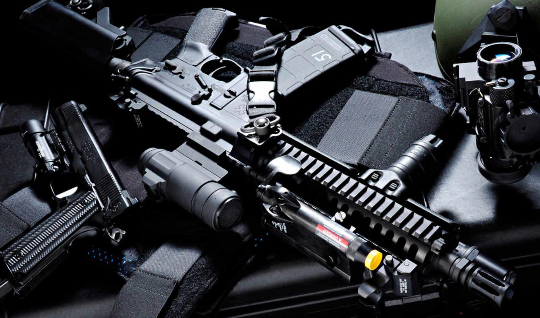 wallpapers, скачать, винтовка, пистолет, оружие, tags, автомат, штурмовая, прицел, броник,