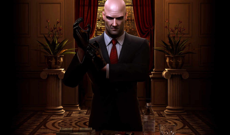 hitman, money, blood, desktop, игры, games, игра, видео, fondo,