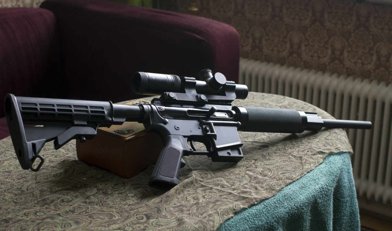 rifle, assault,