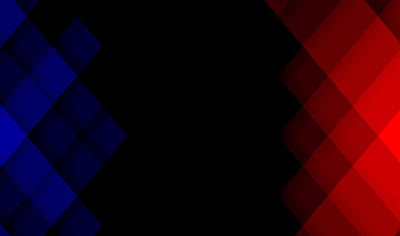 красный, синий, квадрат, пиксель,