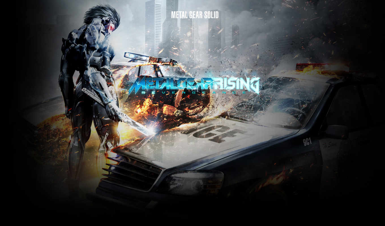 металл, gear, rising, revengeance,