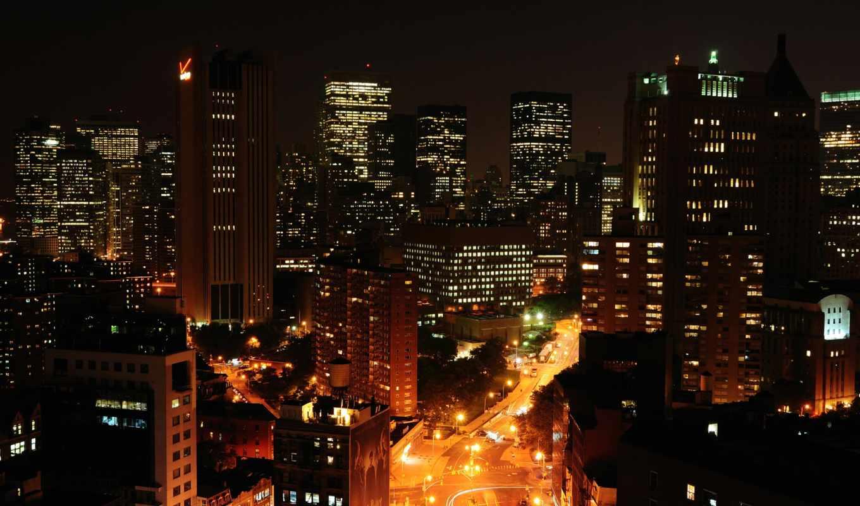 new, york, город, ночь, free, нью,