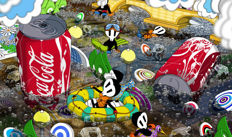 cola, coca, hd, обои, wallpapers, full, food, free