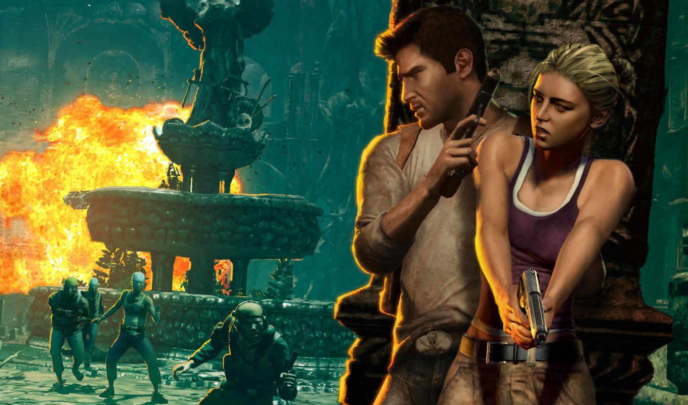 uncharted, drake, fortune, game, desktop, игры, games, you, компьютерные, naughty, download, dog, nathan,
