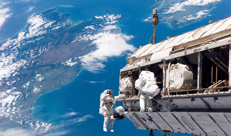 space, космонавты, земля, мкс, astronauts, station,