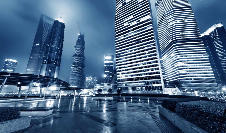 vliesová, fototapeta, tapeta, desktop, rozměr, město, city, buildings, skyline, lights,