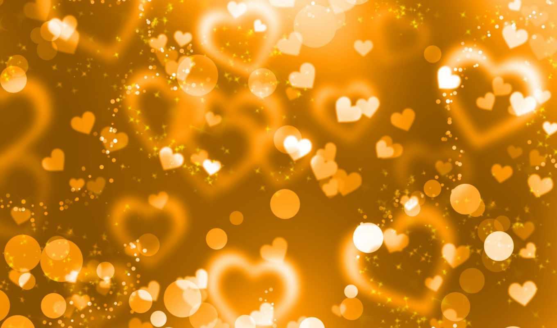 сердце, yellow, gold, фото, текстура