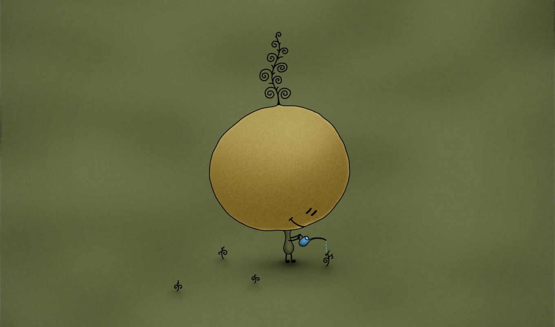 garden, ايبود, small, vladstudio, человечек, она, какие, то, desktop, неприятности,