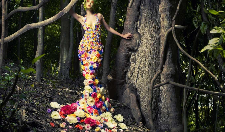 цветы, одежде, print, цвета, world, высокой, пальцев, неформалов, мира, без, перчатки, моды,