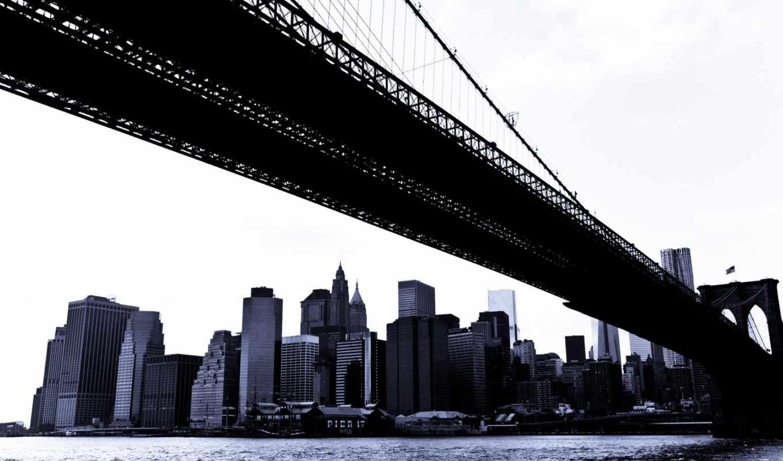 бруклин, new, мост, york, you, ресторан,