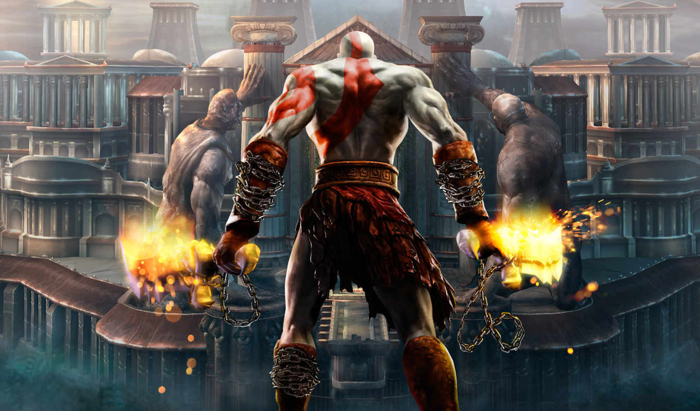 god, war, игры, download, kratos, game,
