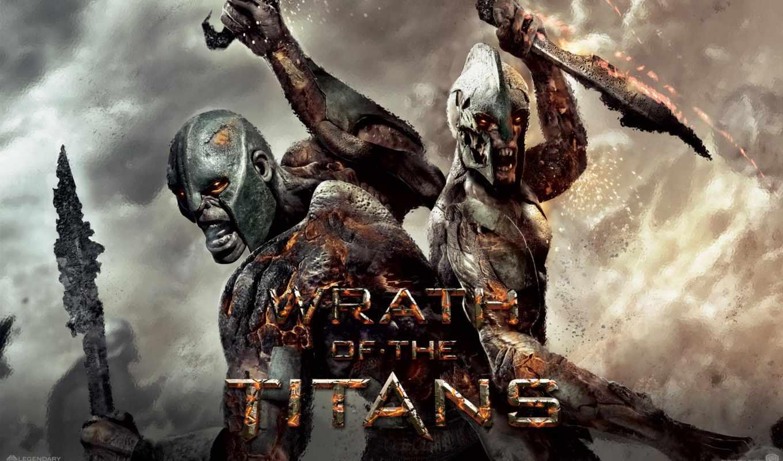 титанов, битва, titans,