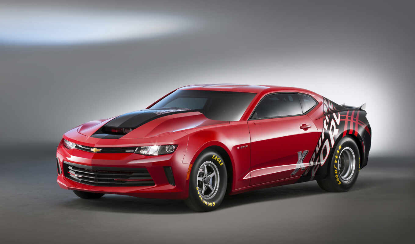 camaro, chevrolet, copo, accent, red, камаро, black, sema,