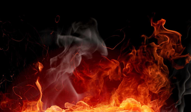 огонь, fone, черном, от, video, svet, футаж,