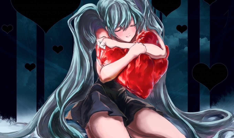 anime, love, youtube, клип, сердце, views,