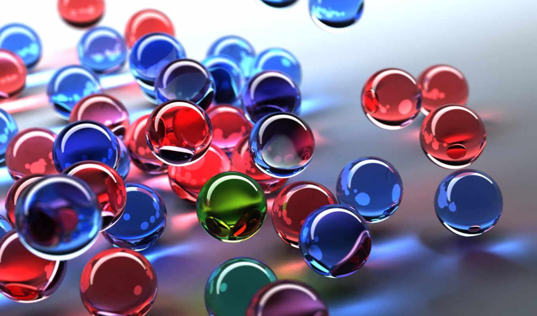 шарики, графика, разноцветный