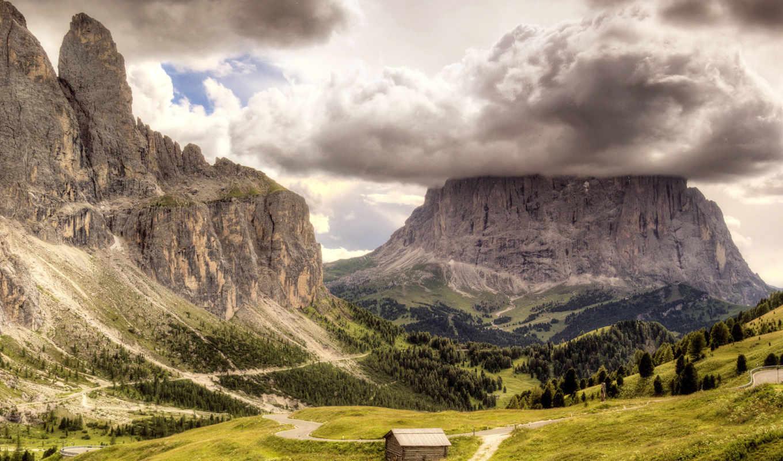 природа, деревя, rocks, долина, но, взгляд, house, daily, биг, click,