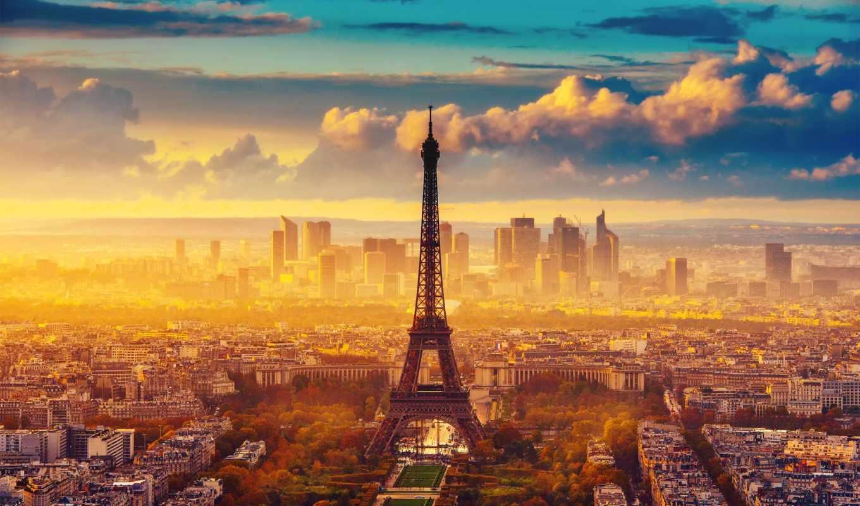 париж, french, франция, эйфелева, turret, cu, martie,