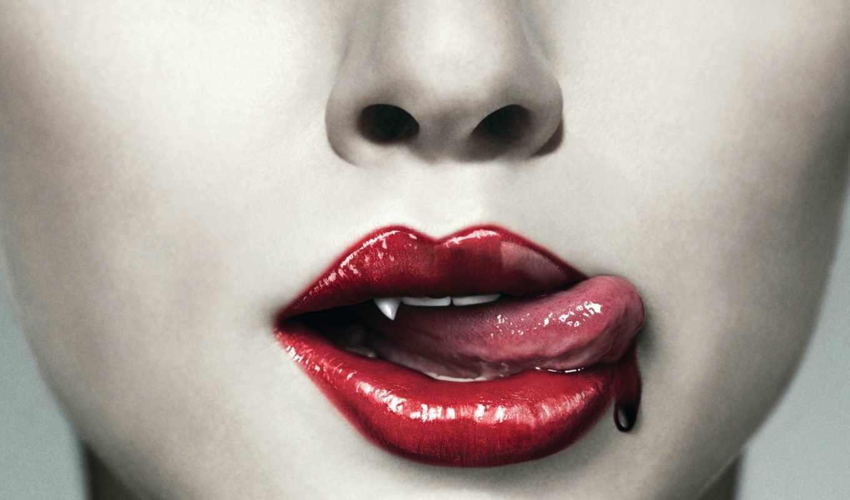 зубы, язык, зубки, бе, una, вамиры, vampire,