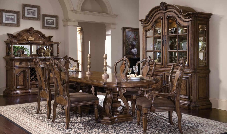 ретро, гостиной, lounge, стиле, кухни, имеет,