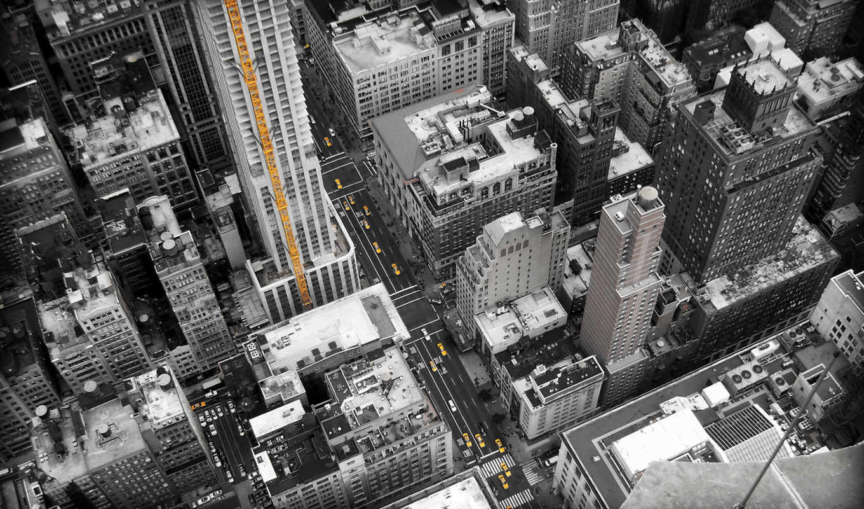 улицы, город, york, new, buildings, дома, height, картинка, desktops,