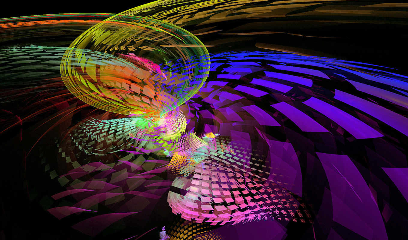 multi, pictures, colored, spotted, art, fractal,