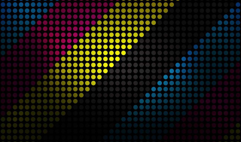 линии, фон, android, black, круги, desktop,