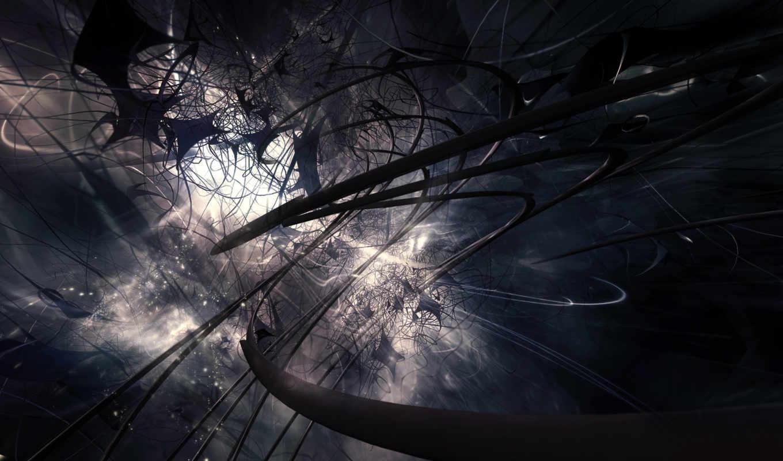 abstract, dark, more, black, free, фон,