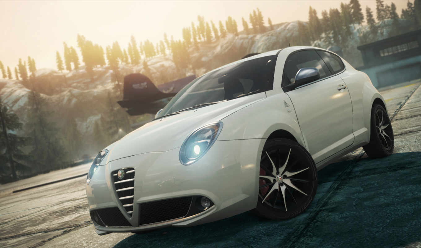 romeo, alfa, dlc, nfs, скорость, need, wanted, mito, qv,