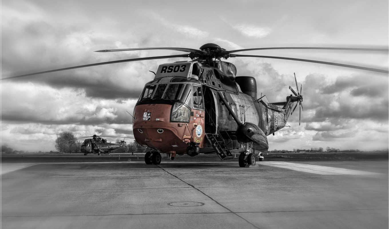 helicopter, вертолёт, sicorskiy, wallpapers, небо, military, горизонт, тучи, rs,