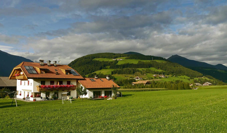 картинка, italy, ellf, house, дома, города, природа, луга,