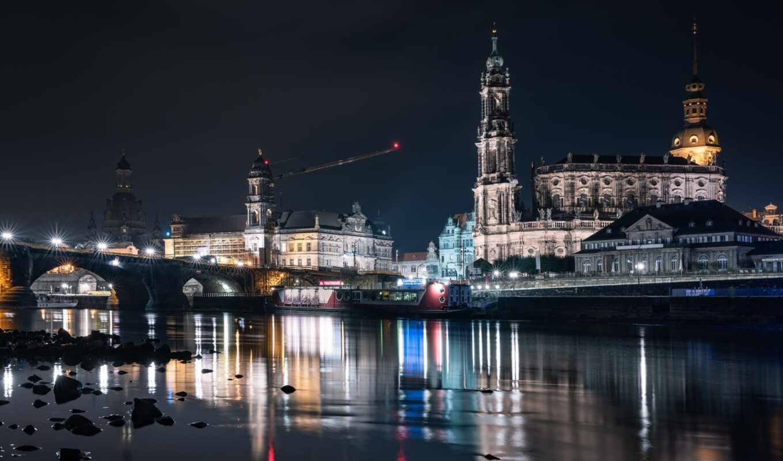 dresden, город, германия, tourist, аттракцион, germanii, catedral, cathedral, excerpt