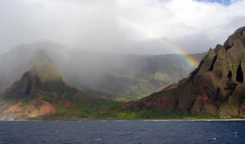 napali, rainbow, coast, regenbogen, küste, hintergrundbilder, frei, fotos, straight, stock, nepal,