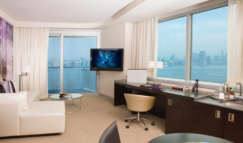 окна, комната, диван, телевизор,
