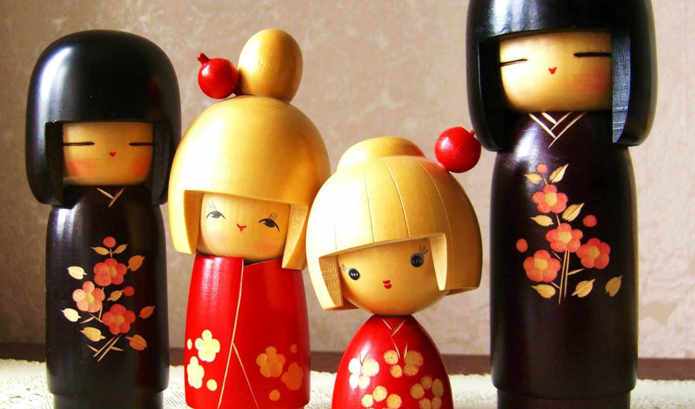 doll, toy, куклы, кокеши,