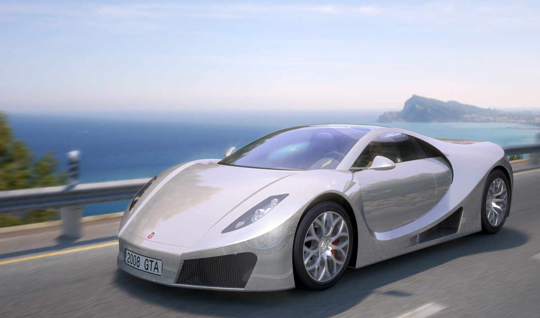gta, motor, concept, spano, car, автомобили, спорт,