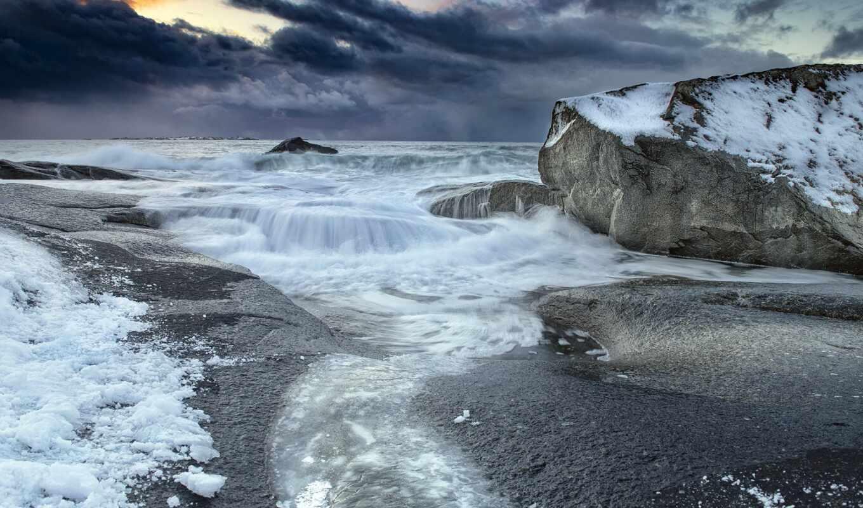 море, ocean, природа, winter, landscape, лед, arsatty, strickland, anne