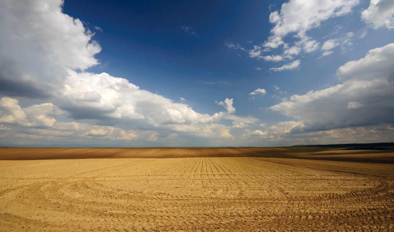wallpaper, desktop, nature, небо, поле, wallpapers, hd, landscape, and, love, земля, field, from, скошенное, пустота, картинка, you, пшеничное,