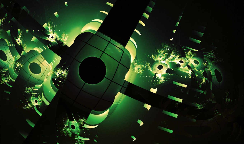 abstract, desktop, green, зеленые, абстрактные, темно, subno, net, background, free,