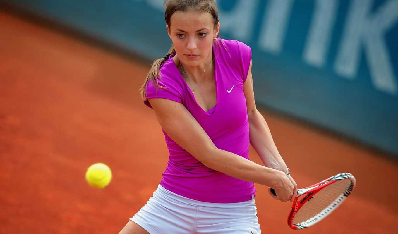 спорт, tennis, smetak, паула, красивые, ракетка,
