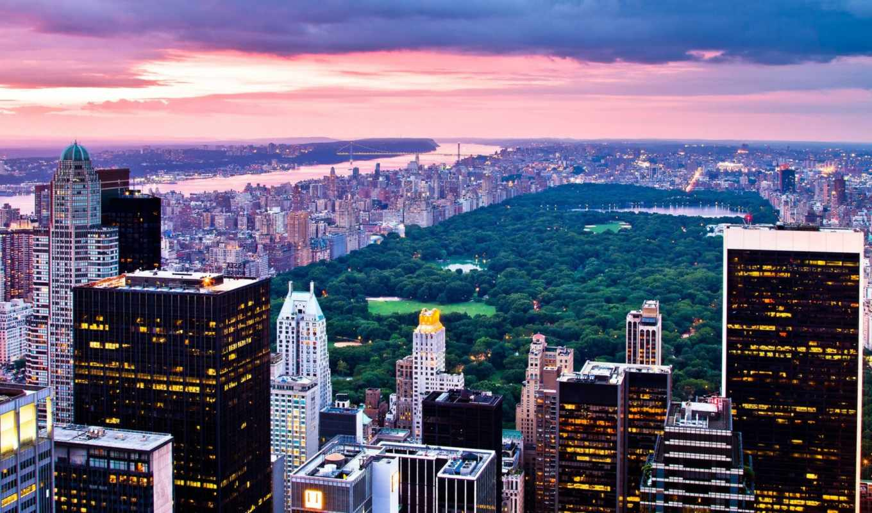 york, new, город, nyc, бруклин, мост, manhattan, взгляд, usa,