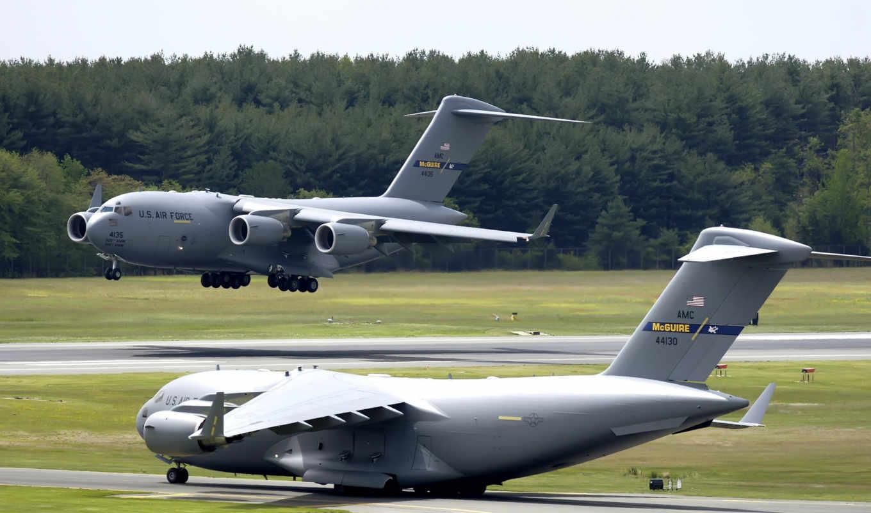 globemaster, iii, boeing, тренировочный, air, самолёт, полет, dr, самолеты,