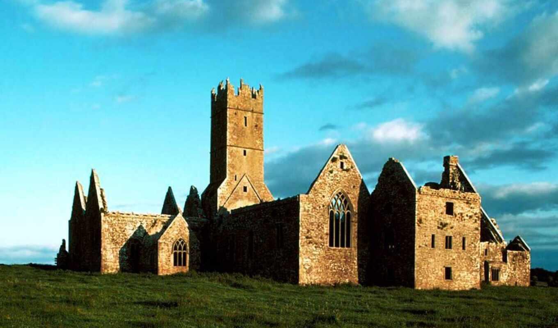 разруха, ireland, friary, ross, abbey, franciscan, pr-ncipe, headford, found