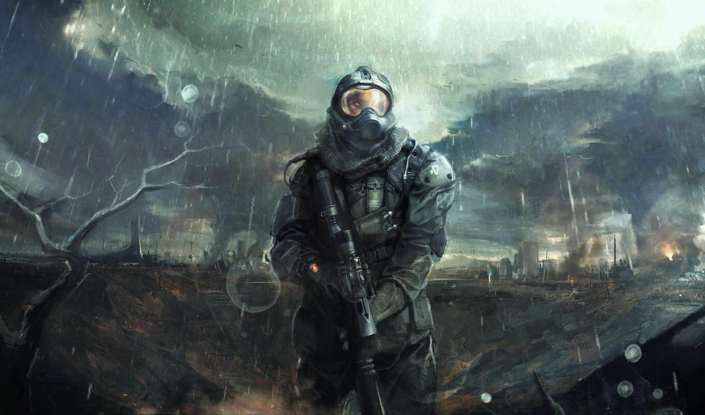 апокалипсис, игры, stalker, доспехи, last, дождь, мужчины, шлем, цитатник,