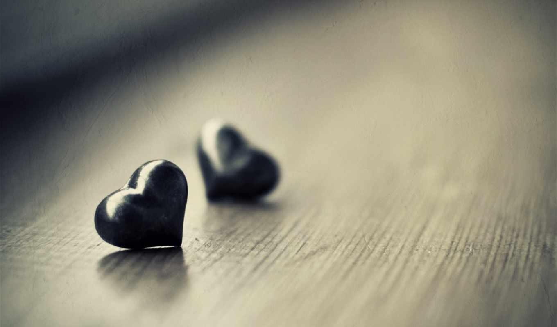сердце, фигура, древесина, блеск