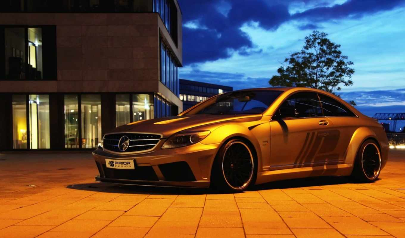 mercedes, benz, издание, black, prior, design,
