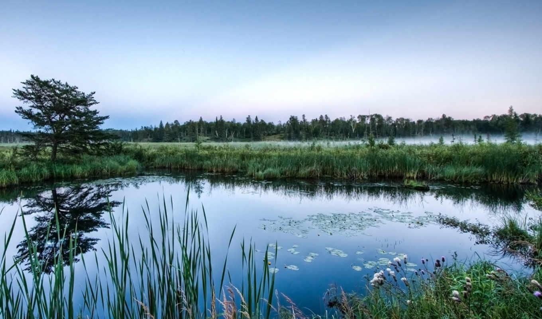 озеро, красивые, озера, природа, голубое, большой, моря, фотообои, природы,